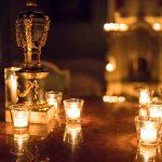 Nachtführung bei Kerzenschein